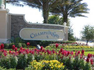 Oasis at Championsgate Entrance