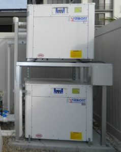 Stacked Heat Pumps