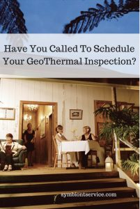 have a geo thermal inspection